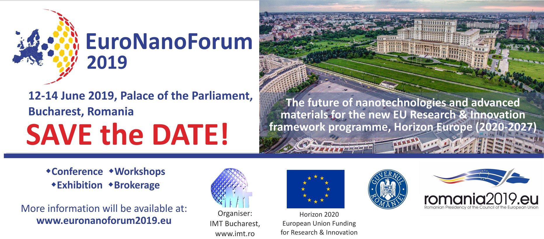 EuroNanoForum 2019