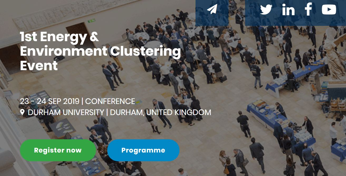 Durham Energy Institute and EUA-EPUE organise 1st Energy & Environment Clustering Event