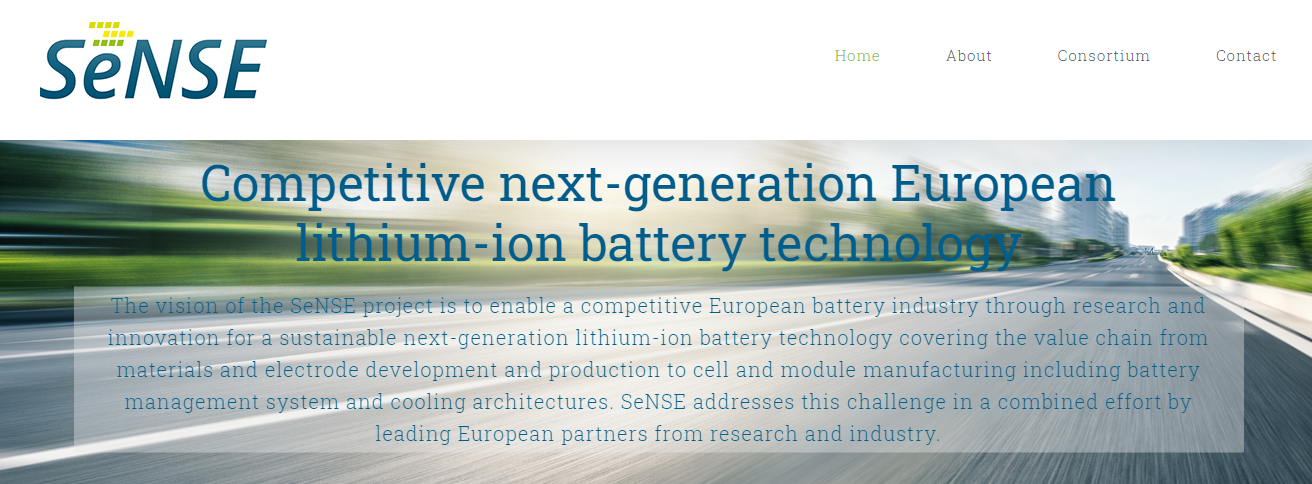 SeNSE project to build battery cell competencies in Europe