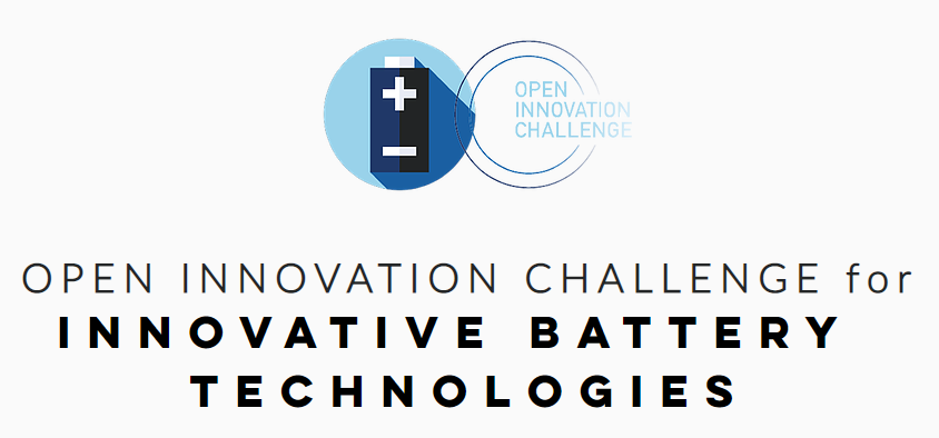 OPEN INNOVATION CHALLENGE for Innovative battery  technologies