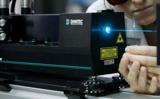 Real time measurement of printed film profile for Quality Control